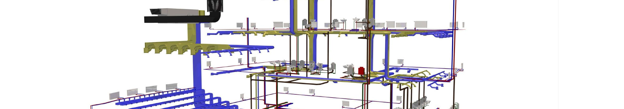 Projektowanie instalacji sanitarnych 3D